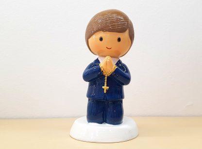 menino comunhão catolicismo topo de bolo little drops of water