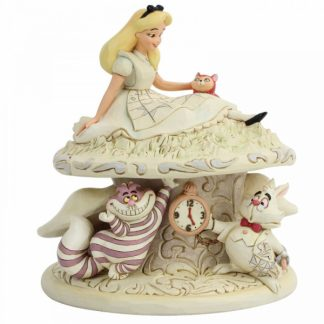 alice no país das maravilhas cheshire cat disney traditions jim shore
