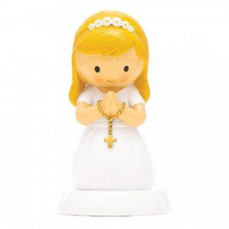 menina comunhão catolicismo topo de bolo little drops of water