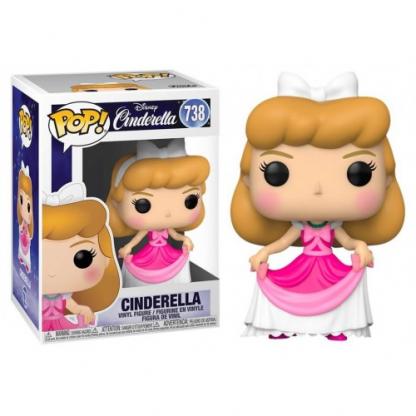 cinderella in pink dress funko pop disney cinderela