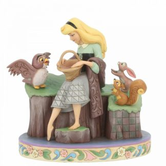 disney traditions jim shore aurora sleeping beauty 60 anos filme a bela adormecida