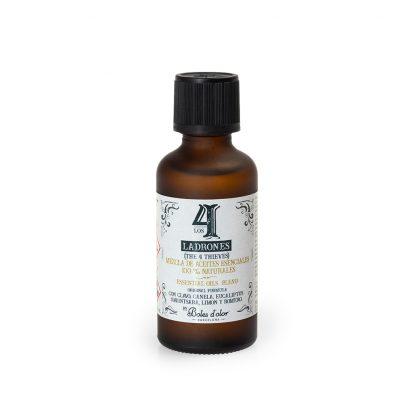 4 ladrões álcool gel higienizante desinfectante boles d'olor bruma óleo catalítica