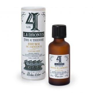 4 ladrões álcool gel higienizante desinfectante boles d'olor bruma óleo