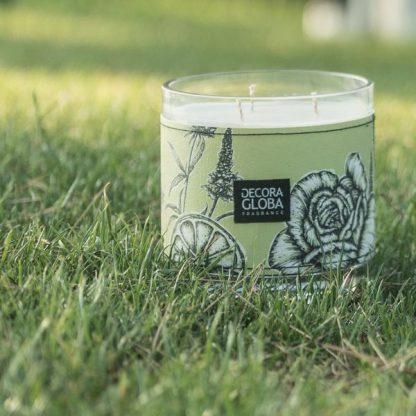 mikado vela difusor spray aromatizador descanso en la hierba decoragloba