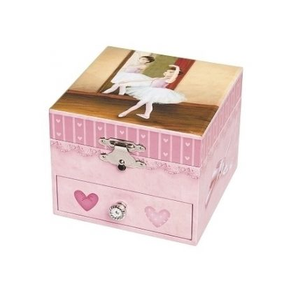 s20917 trousselier caixa de música music box bailarina