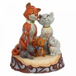 Carved by Heart Aristocats Figurine aristogatos jim shore disney traditions