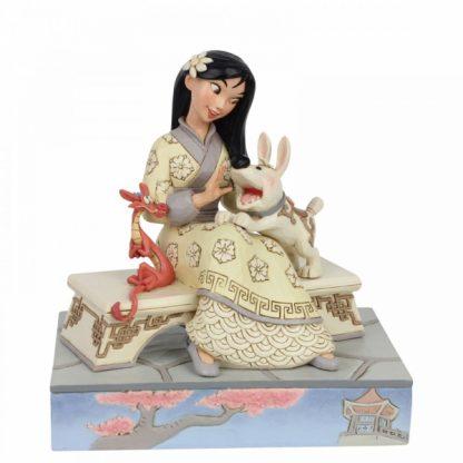 Honourable Heroine (Mulan Figurine) disney traditions jim shore mulan