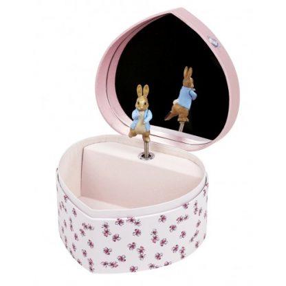 caixa de música bailarina caixa de jóias peter rabbit