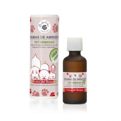 frutos do bosque pet remedies animais boles d'olor bruma óleo anti-odor brumizador aromatizador difusor