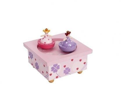 caixa de música bebé princesa