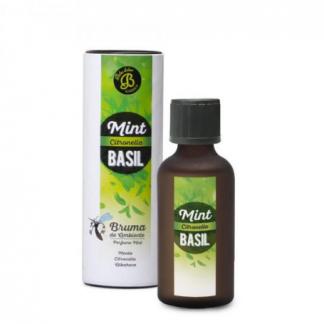 mint basil citronella menta manjericão citronela afasta mosquitos moscas difusor aromatizador boles d'olor