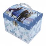 caixa de música jóias menina princesa frozen ii let it go