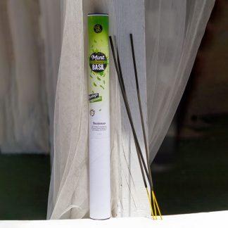 incenso mint albahaca citronela menta manjericão boles d'olor anti mosquito jardim
