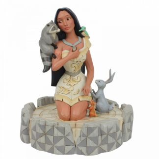 brave beauty pocahontas disney traditions jim shore 6007062