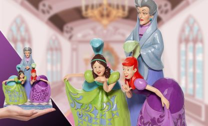 Lady Tremaine, Anastasia and Drizella Figurine disney traditions jim shore cinderella cinderela 6007056