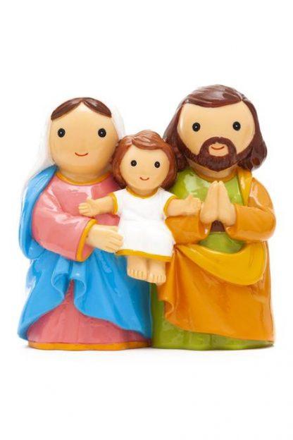 presépio sagrada família holy family little drops of water 18120