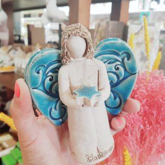 rita macedo cerâmica ceramista artesanato anjo