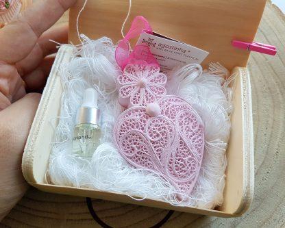 gesso perfumado agostinha coração de viana lembrança casamento filigrana