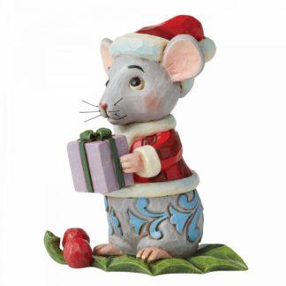 6006663 ratinho rato jim shore heartwood creek natal azevinho