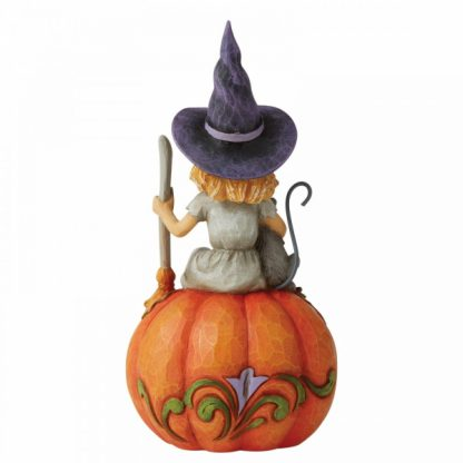 6006702 bruxa witch jim shore heartwood creek pumpkin halloween