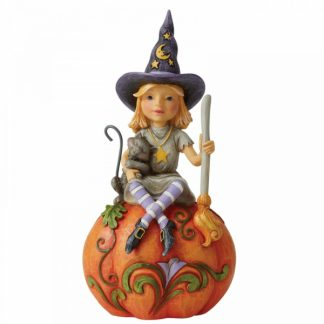 6006702 bruxa witch jim shore heartwood creek pumpkin halloween