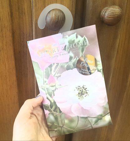 saqueta roupeiro rosa errante heart and home