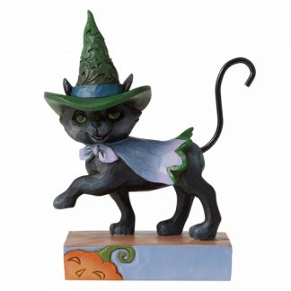6006705 jim shore heartwood creek cat gato abóbora halloween