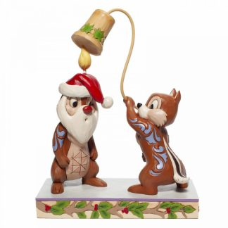chip and dale tico e teco disney traditions jim shore natal christmas