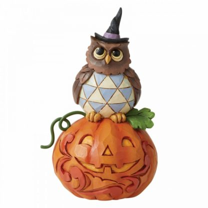 6006704 mini mocho abóbora owl jim shore heartwood creek halloween