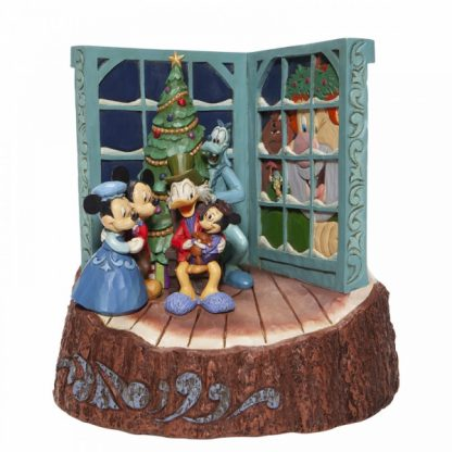 6007060 mickey christmas carol cânticos natal mickey minnie scrooge disney traditions jim shore