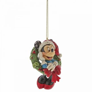 a30356 minnie mouse disney traditions jim shore natal