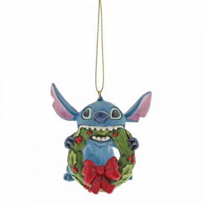 stitch coroa natal jim shore disney traditions