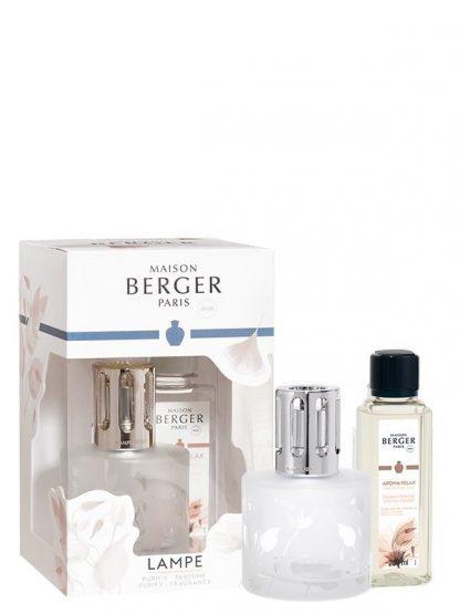 coffret 4677 aroma relax maison berger paris lâmpada catalítica