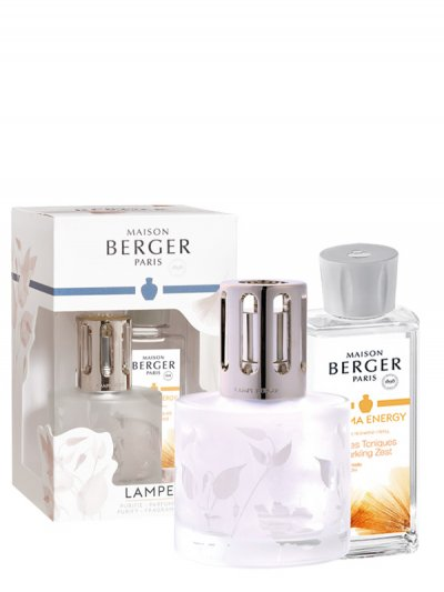 maison berger paris coffret 4678 aroma energy lâmpada catalítica
