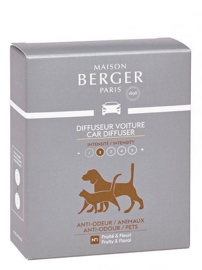6416 anti odor animais maison berger paris carro