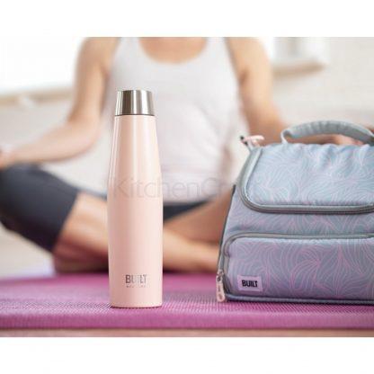 built ny lancheira térmica mindful zen marmita garrafa aço reutilizável