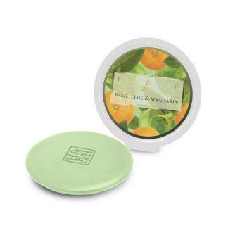 cera líquida soja heart and home manjericão lima tangerina lime basil mandarin