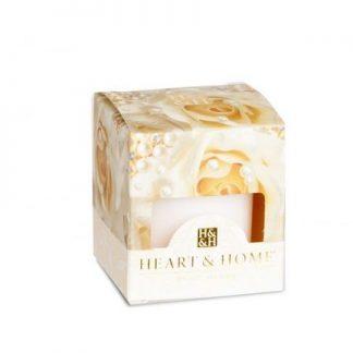 votiva soja vela bouquet de pérolas heart and home