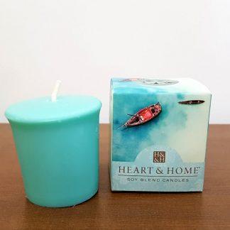 vela soja votiva sal do mediterrâneo heart and home
