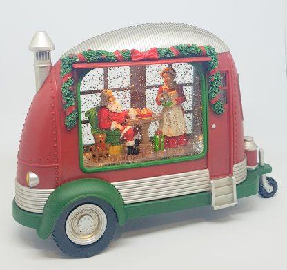 caravana pai natal jingle bells caixa de música