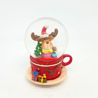 globo d eneve chávena rena rudolfo natal pai natal boneco de neve