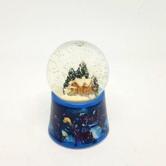 globo de neve casa inverno natal