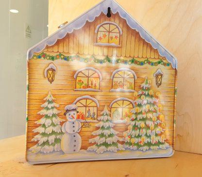 gawol lata advento calendário advento musical natal lata colecção