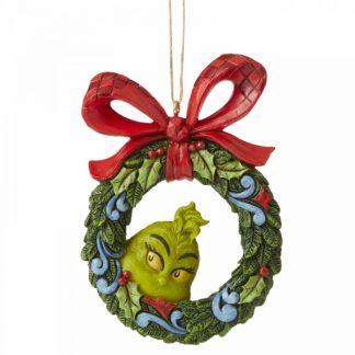 6006571 grinch coroa wreath jim shore heartwood creek natal