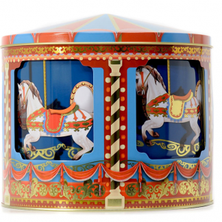 10580015 lata silver crane carrossel musical natal