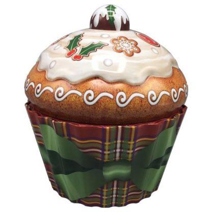 the silver crane company lata tin cupcake puding natal