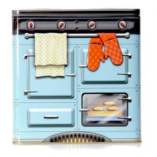 lata forno cooker fogão silver crane company retro