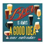 vcal21042 calendário beer cerveja prenda presente home pai tio irmão legami calendário
