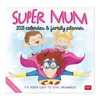 vcal21051 super mum mãe calendário