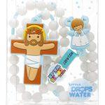 rosário terço little drops of water anjo da guarda azul 18133